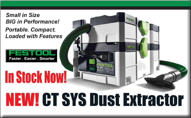 New CT SYS Dust Extractor
