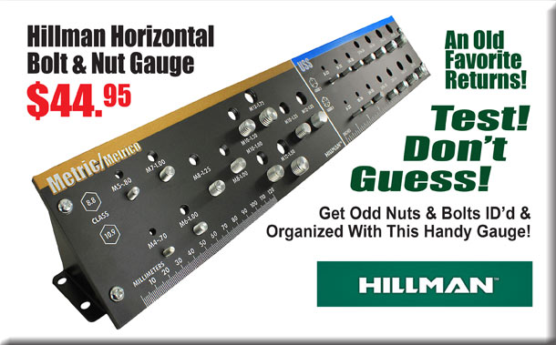 Hillman Bolt & Nut Guage