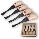 FLEXCUT #FR404 4 PC. WIDE FORMAT PALM CARVING SET