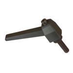 MALE RATCHETING HANDLE - 1/4-20 x 1-1/2