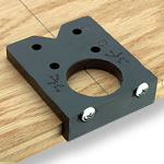 EURO EASY DRILL CONCEALED HINGE BORING JIG