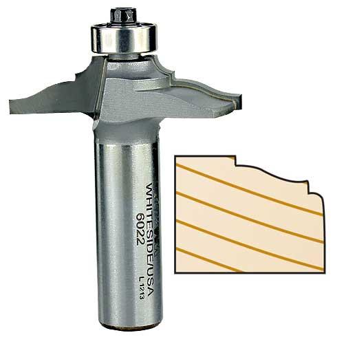 WHITESIDE #6022 FRONT FACE DOOR EDGE BIT - 1/2 INCH SH X 1-3/4 INCH LD