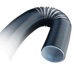 DUST COLLECTION HOSE - 4 X 10 FT. - CLEAR