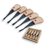 FLEXCUT #FR310 BEGINNERS PALM CARVING SET - 5 PC.
