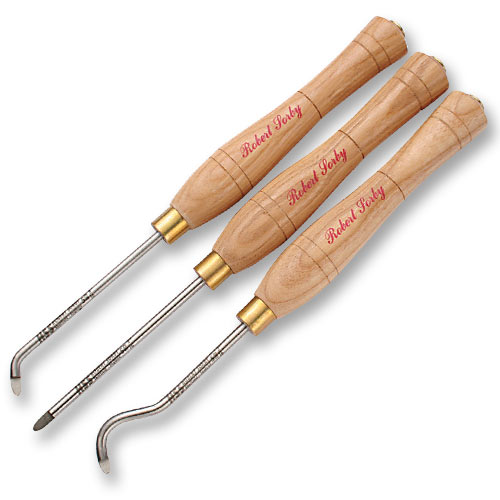 SORBY 3 PC  MICRO-HOLLOWING TOOL SET - #38HS