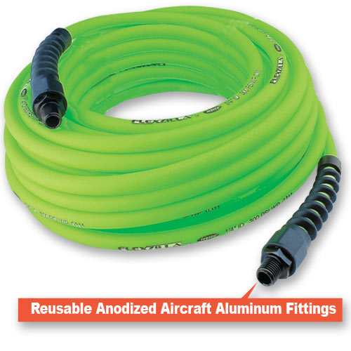 LEGACY FLEXZILLA PRO AIR HOSE - QUARTER INCH  X 100 FT