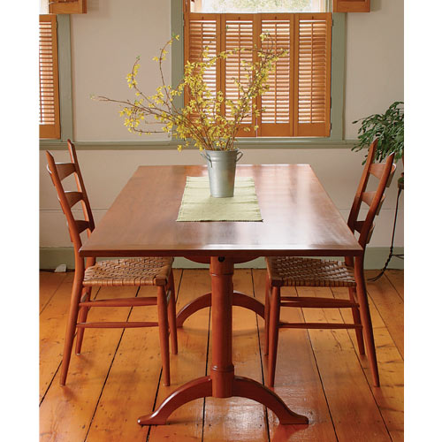 Fine Woodworking Dining Room Tables Project Plans FINE WOODWORKING SHAKER DINING TABLE PLAN