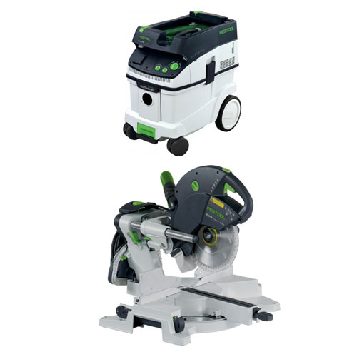 festool saw package deals festool kapex ks 120 eb miter saw ct 36 e extractor package. Black Bedroom Furniture Sets. Home Design Ideas